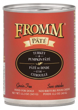 Fromm Grain Free Turkey & Pumpkin Pate