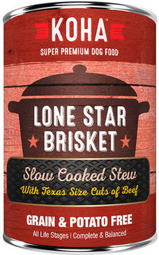 Koha Lone Star Brisket Slow Cooked Stew