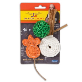 Jackson Galaxy-Natural Playtime (3 pack)