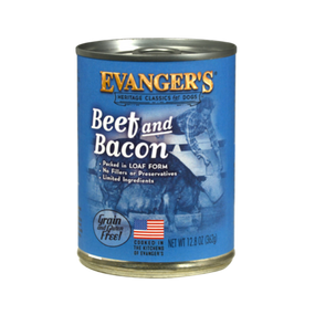 Evanger's Beef & Bacon Classic Recipe