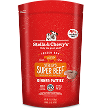 Stella & Chewy's Super Beef Canine Dinner Patties 6#