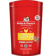 Stella & Chewy's Chewy's Chicken Canine Dinner Patties 6#