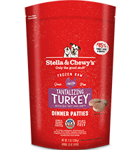 Stella & Chewy's Tantalizing Turkey Canine Dinner Patties 6#