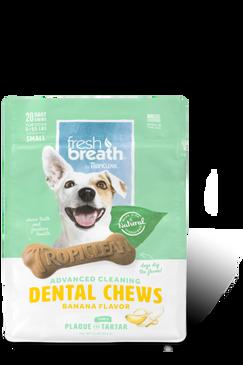 Tropiclean-Advanced Cleaning Dental Chews Banana Flavor