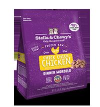 Stella & Chewy's Chick Chick Chicken Feline Frozen Dinner Morsels 1.25#