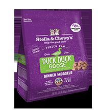 Stella & Chewy's Duck Duck Goose Feline Frozen Dinner Morsels 1.25#