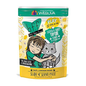 Wervua BFF Play Pate Chicken & Turkey Tiptoe