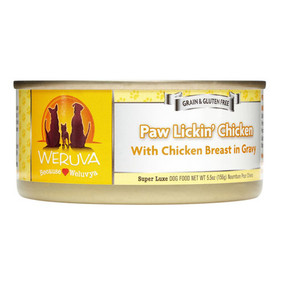 Weruva Paw Lickin' Chicken – With Chicken in Gravy For Dogs
