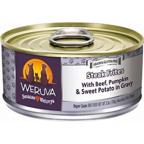 Weruva Steak Frites - With Beef, Pumpkin & Sweet Potato in Gravy