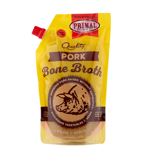 Primal Bone Broth Pork 20 oz