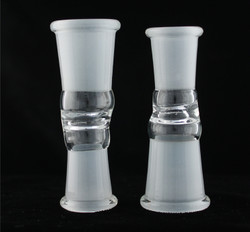 18.8mm Female to 14.4mm Female Glass Fitting Converter Adapter GonG Glass on Glass View