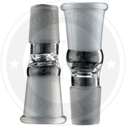 14.4mm Male to 18.8mm Female Glass Fitting Converter Adapter GonG Glass on Glass