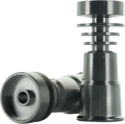 GR2 Titanium Dab Domeless Nail  Fits 14 & 18 Male Joint