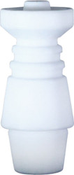 Ceramic Domeless Nail 4 in 1 Fits 10mm 14mm Male and Female