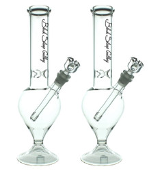 "14"" 44x4 Black Sheep Gallery Tear Drop Glass Water Pipe Bong (CLASSIC-7)"