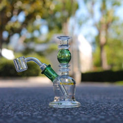 "5"" Mini Genie Bottle Oil Rig Water Pipe Bong by Encore Collection"