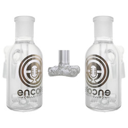 Clear Cross Perc Ash Catcher Precooler by Encore Collection