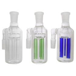 Glass Cylindrical Color Tree Ash Catcher Precoolers