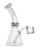 Encore 5.5″ 4mm Thick Banger Domeless Nail Quartz Beaker