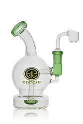 Encore Collection Glass Globe Ball Oil Rig Banger Hanger Water Pipe