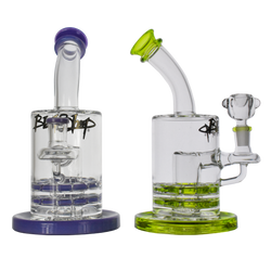 Black Sheep Gallery Glass Bong Hand Cannon 75mm Color Ratchet