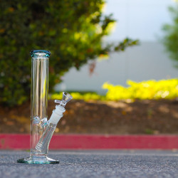 10″ 38×4 Glass on Glass Classic Water pipe