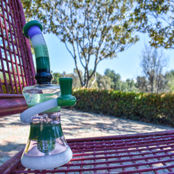 "9"" Color Ring Stack Hour Glass Rig"