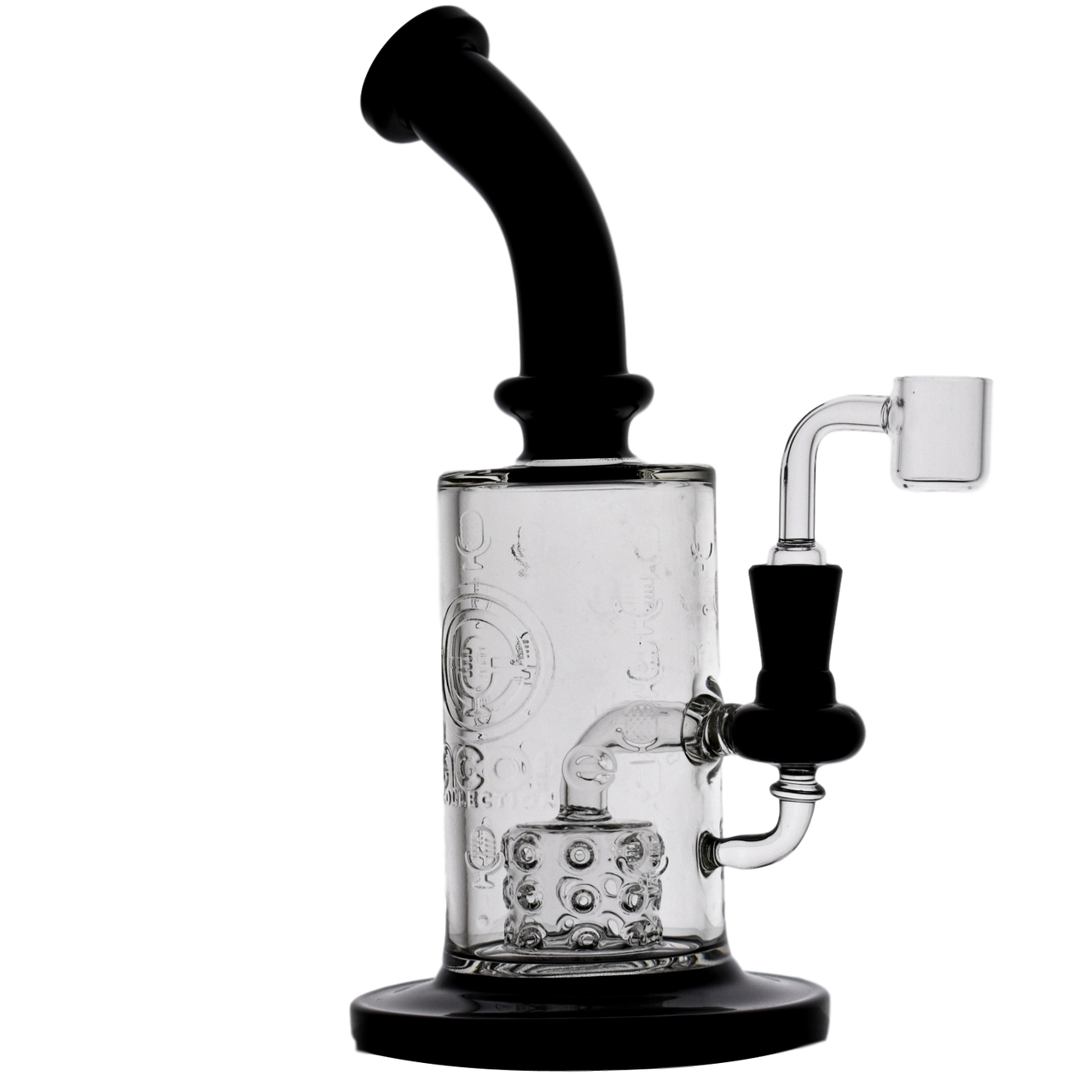 Encore Collection Hot Stamped Body Dab Rig Side Fire