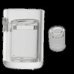 25mm Quartz Dish Insert with Splash Prevention