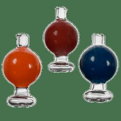 Colored Bubble Carb Cap
