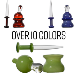 3pcs  Carb Cap Dabber and Dish Custom Matching Color Set