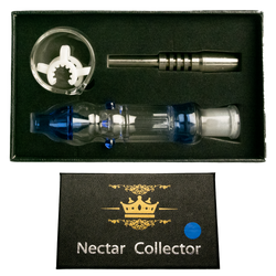 14mm Black Box Assorted Colord Nectar Box Set w/ Stainless Steel Tip, Dish & K-Clip