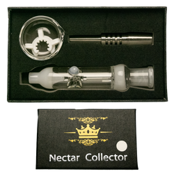 14mm Black Box Assorted colored Nectar Box Set w/ Stainless Steel Tip, Dish & K-Clip