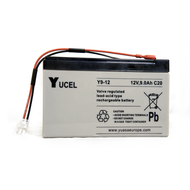 12v 9ah battery assembly for Pitchmark spray line marking machines.