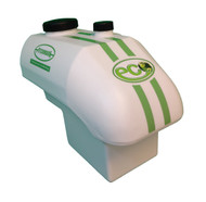 25 litre capacity moulded plastic tank for storing paint on the Eco Club and Eco Pro spray markers.