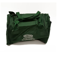 Pitchmark branded kit bag for storing and carrying around pitch marking accessories.