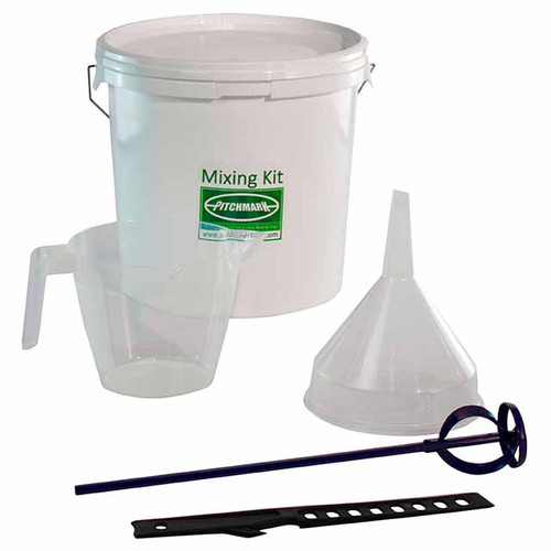 Mixing Kit for concentrate line marking paints - ensure perfect accuracy when diluting the paint.