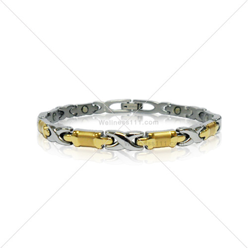LINK: 2-Tone Gold & Silver Finish