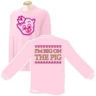 Lt. Pink T-Shirt LS (Adult) - PWALLP-JW