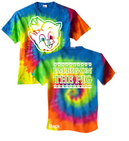 80e222737 Tie-Dye T-Shirt (Adult) - PWASTD-JW - The Pig Store