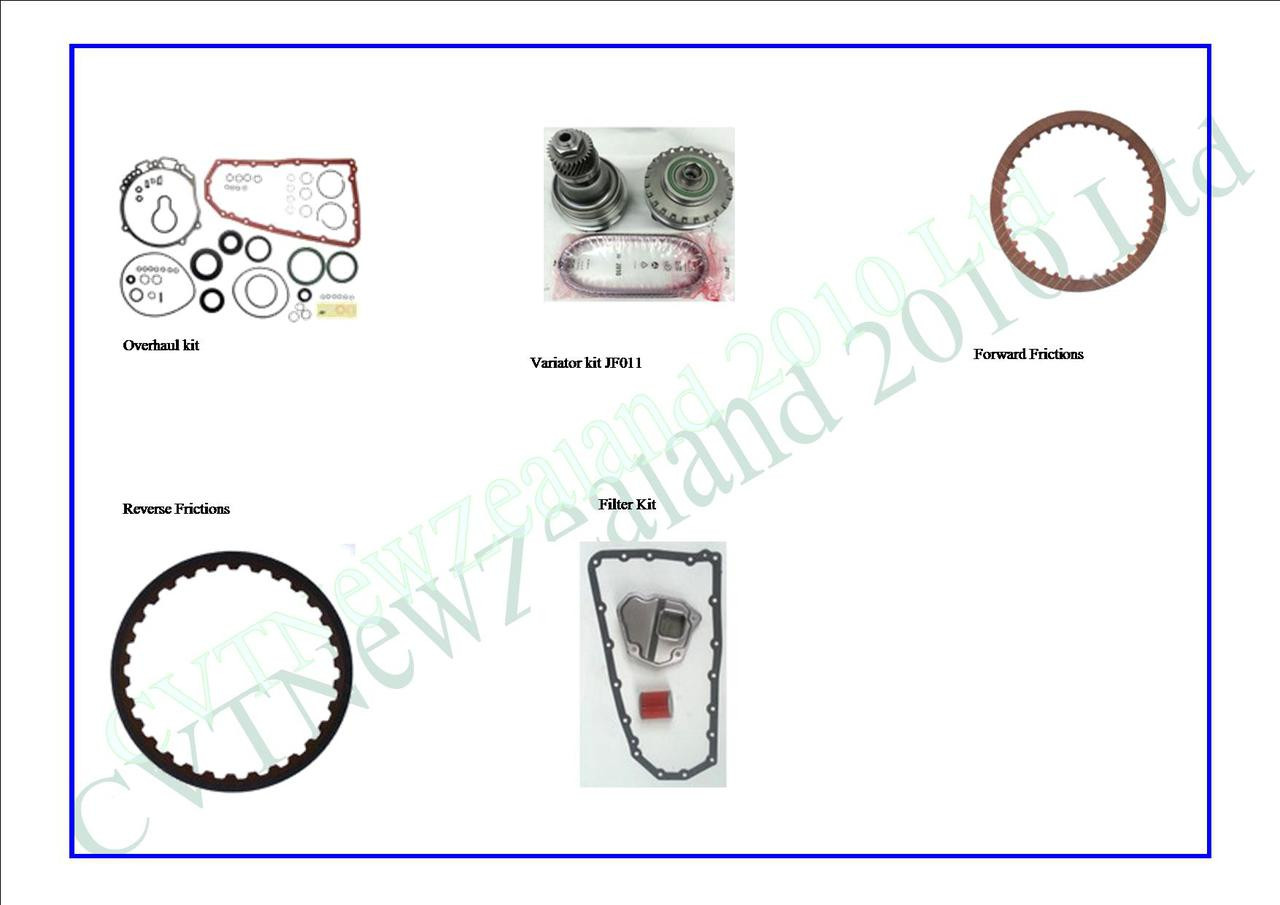REOF10 (JF011) Master Overhaul Kit A - CVT Parts Limited