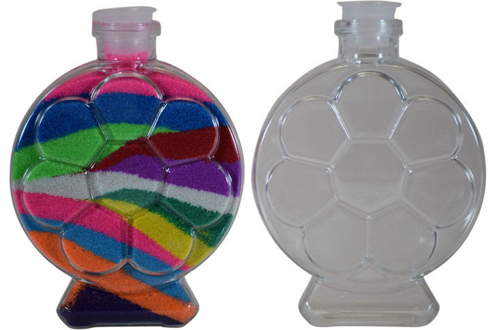 Round Flower Sand Art Bottle