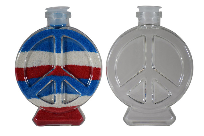 Sand Art Peace Bottle