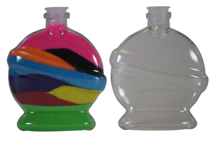 Sand Art Saturn Bottle