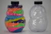 Sand Art Plastic Owl Bottle