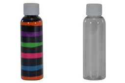 Sand Art Bullet Bottle 2 oz