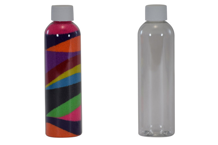 Sand Art Bullet Bottle 4 oz
