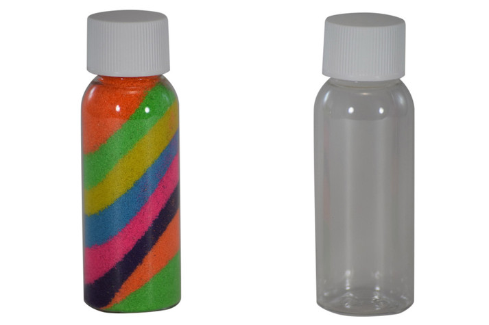 Sand Art Bullet Bottle 1 oz