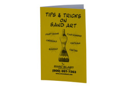 Sand Art Tips & Tricks Book