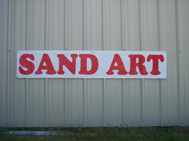 Sand Art Banner